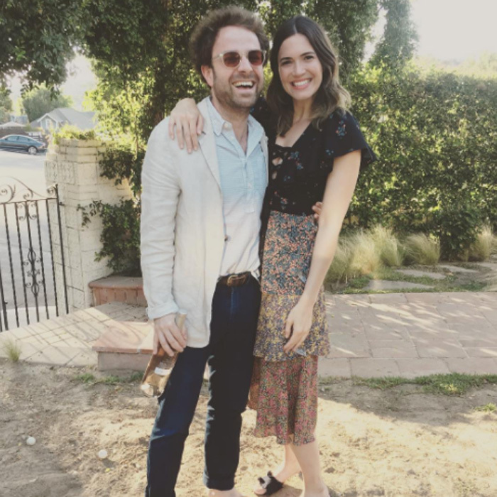 <h3>Mandy Moore and Taylor Goldsmith</h3>