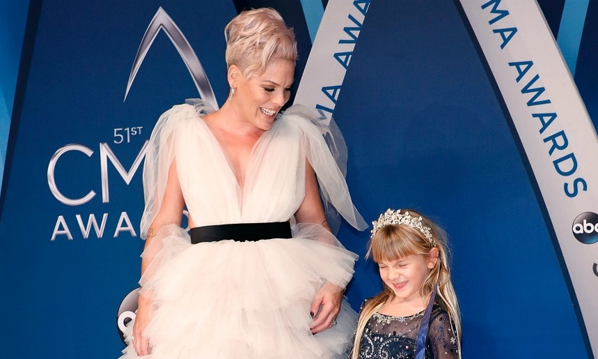 Pink Shares Hilarious Letter Her Child Willow Wrote To