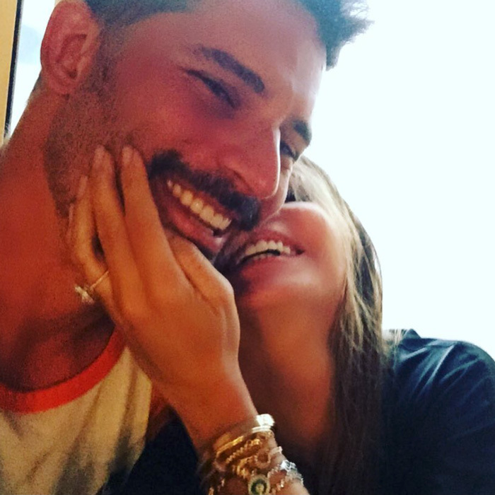 "Christmas cuddles! Sofia Vergara snuggled up close to husband Joe Manganiello in a photo she sweetly captioned: ""3 years ago I got all I ever wanted for xmass!!! love u so much!!❤️ feliz Navidad to every one!!""