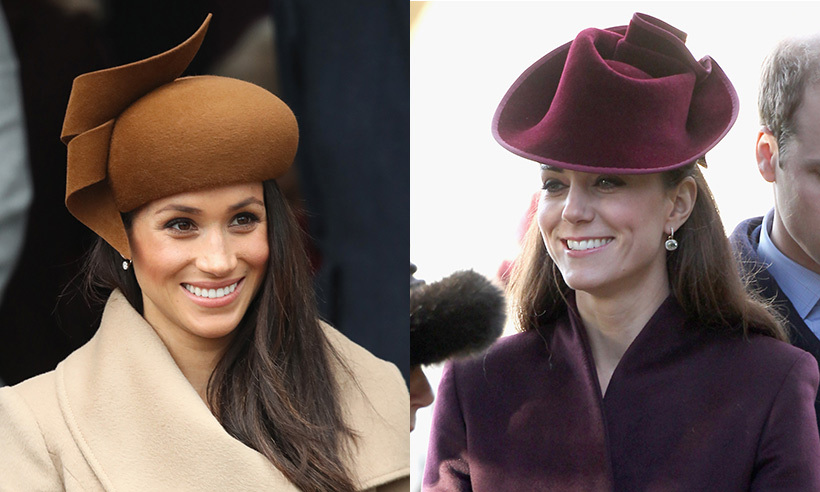 Duchess Kate And Meghan Markle S Royal Christmas Outfits