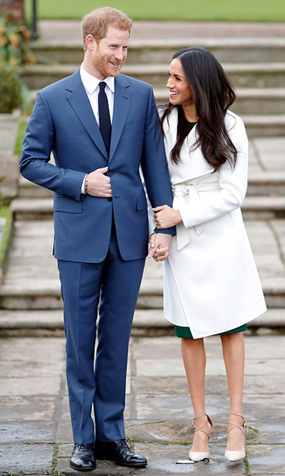 When Meghan Markle posed with husband-to-be Prince Harry on 27 November announcing her engagement, the former Suits actress caused fashion chaos as she donned a simple white trench coat by Line the Label - a Canadian boutique brand. The website crashed, and the brand even re-named the coat in her honour.