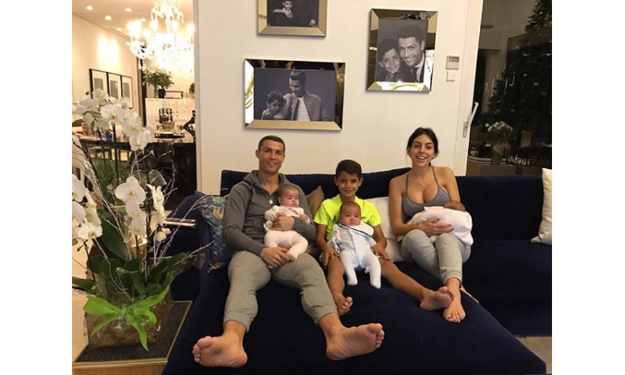 Cristiano left his four children – Cristiano Jr., Mateo, Eva and Alana – at home to attend the celebration on December 27 in Madrid with his partner Georgina Rodriguez. 