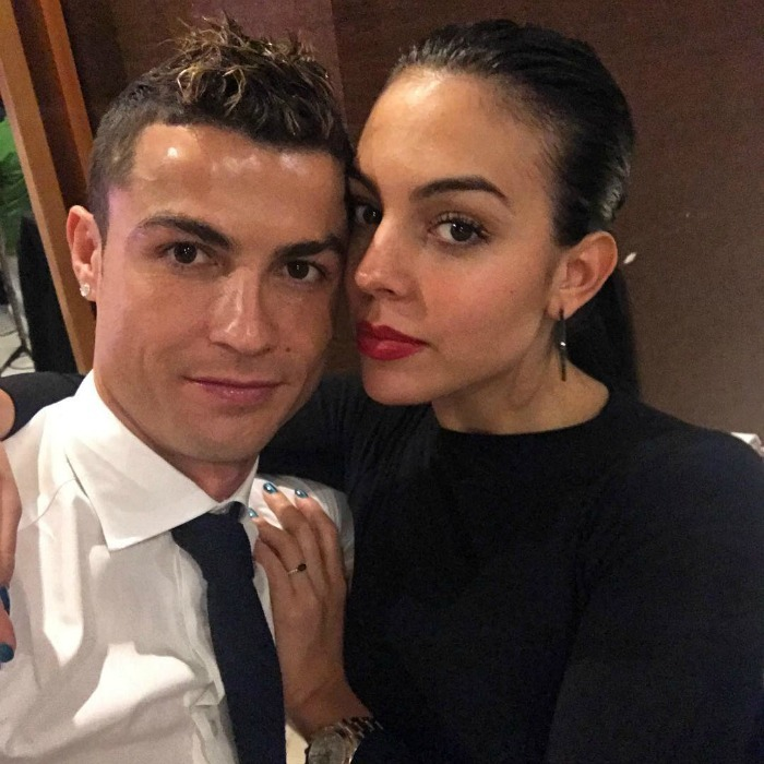 "Cristiano Ronaldo and his girlfriend Georgina Rodriguez had a cozy New Year's celebration with the family. The football superstar shared a loved-up photo with his lady love, simply placing a heart emoji in the caption. He also posted a photo with his mom wearing a New Year's crown, writing: ""Congratulaitons, mom!""