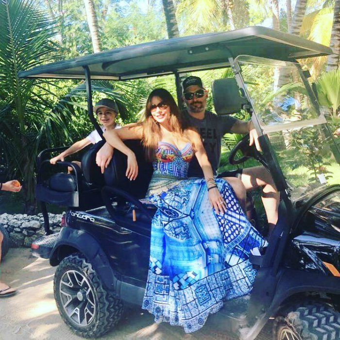 Between Christmas, Joe's birthday and New Year's, Sofía Vergara and Joe Manganiello had a lot to celebrate during the final week of 2017. The couple jetted away with their family for a tropical adventure. The <i>Modern Family</i> star posted several photos and videos from their trip, flaunting the magical memories they have in the making.