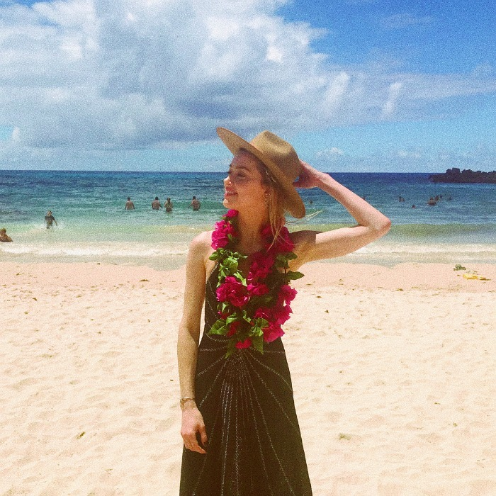 "New Year's goals! Amber Heard took to social media to show off her enviable New Year's holiday. The star jetted off to Chile for the long weekend. ""My kind of winter holiday,"" the 31-year-old actress wrote along with a beautiful picture of her soaking in the sunshine on the beach.