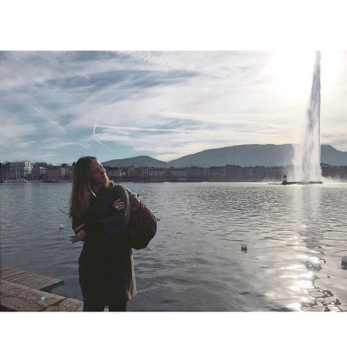 "<p>Lady Amelia revealed that she and Marina had missed their flight home at the end of the trip, although it did give them the opportunity to explore Geneva. ""Missed our flight home but at least Geneva is pretty nice place and this lady pretty nice too,"" she captioned a photo of her sister posing in front of a lake.</p>