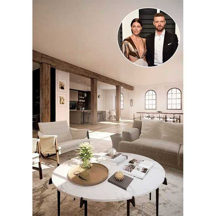 <h4>Justin Timberlake and Jessica Biel:</h4>