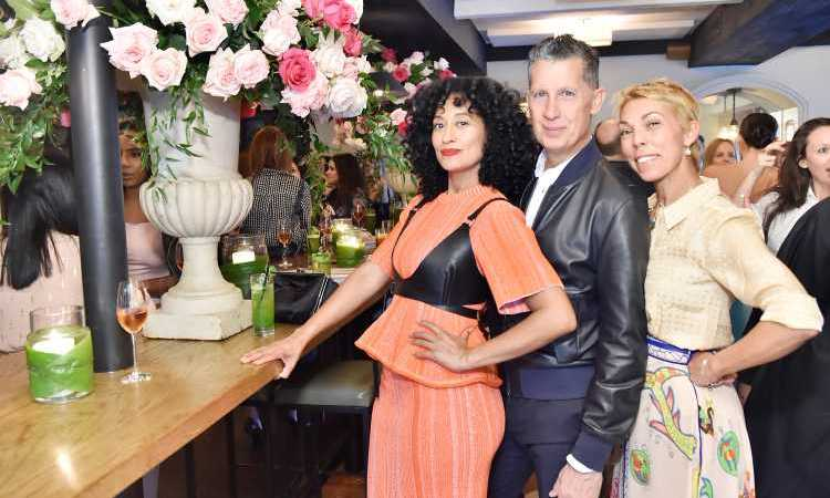 It was a stylish affair at the W Magazine It Girl luncheon! Tracee Ellis Ross, Stefano Tonchi and Mathilde Favier were all smiles while posing for photos.