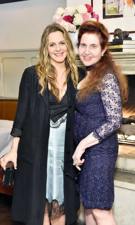 Iconic <i>Clueless</i> star Alicia Silverstone and W Magazine's editor-in-chief Lynn Hirschberg stunned in lacy numbers at the magazine's It Girls luncheon!