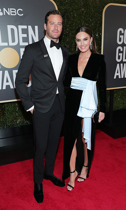 Armie Hammer & Elizabeth Chambers
