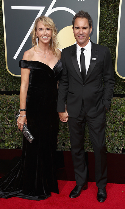 Janet Holden & Eric McCormack
