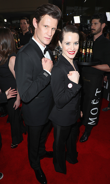 Matt Smith & Claire Foy