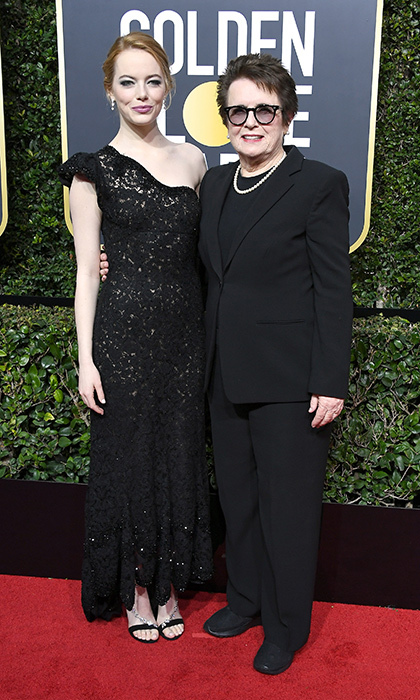 Emma Stone & Billie Jean King