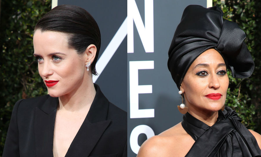 "<p>The <strong><a href=""/tags/0/golden-globes/"">75th annual Golden Globes</a></strong> was certainly one to remember, with countless Hollywood stars using the glamorous awards as a platform to promote the message of the #TIMESUP movement - the anti-sexual harassment campaign backed by the likes of <strong><a href=""/tags/0/reese-witherspoon/"">Reese Witherspoon</a></strong> and <strong><a href=""/tags/0/emma-stone/"">Emma Stone</a></strong>. While legions of actresses took to Instagram to pledge their support, the solidarity spread to the red carpet, too, where the majority of famous faces chose to wear black to highlight the cause.</p>