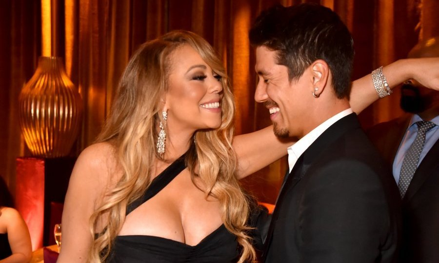 <p>Mariah Carey and boyfriend Bryan Tanaka were spotted dancing at the star-studded gathering.<br/><br/>Photo: &copy; Jeff Kravitz/FilmMagic for HBO</p>