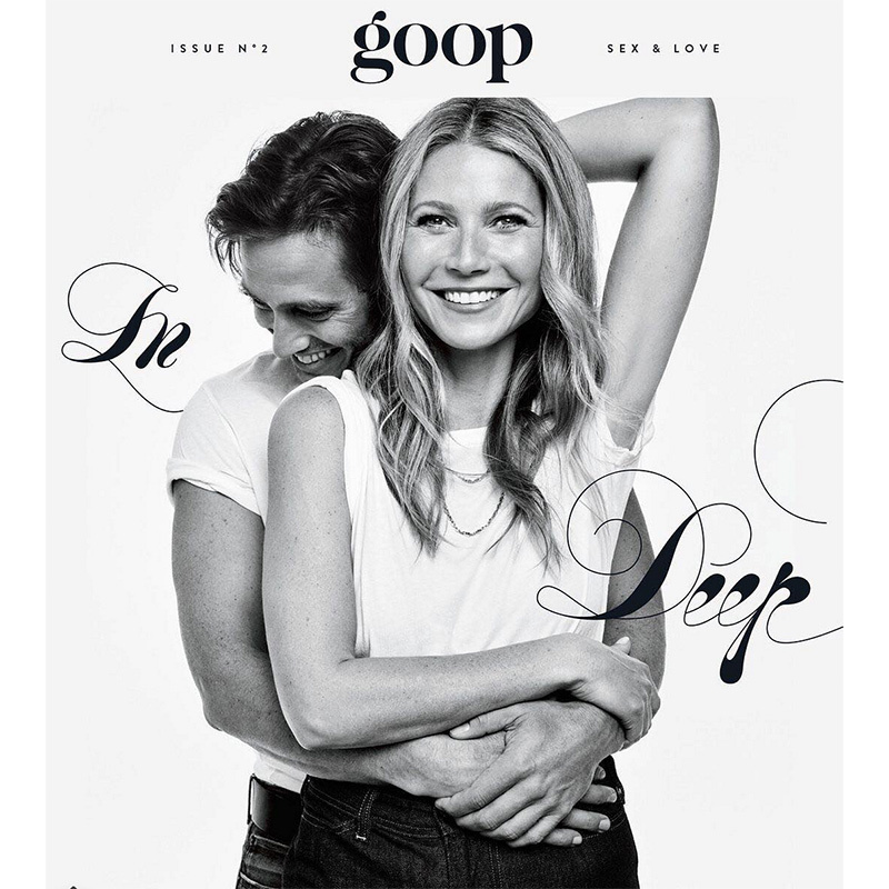 <h4>Gwyneth Paltrow and Brad Falchuk</h4>