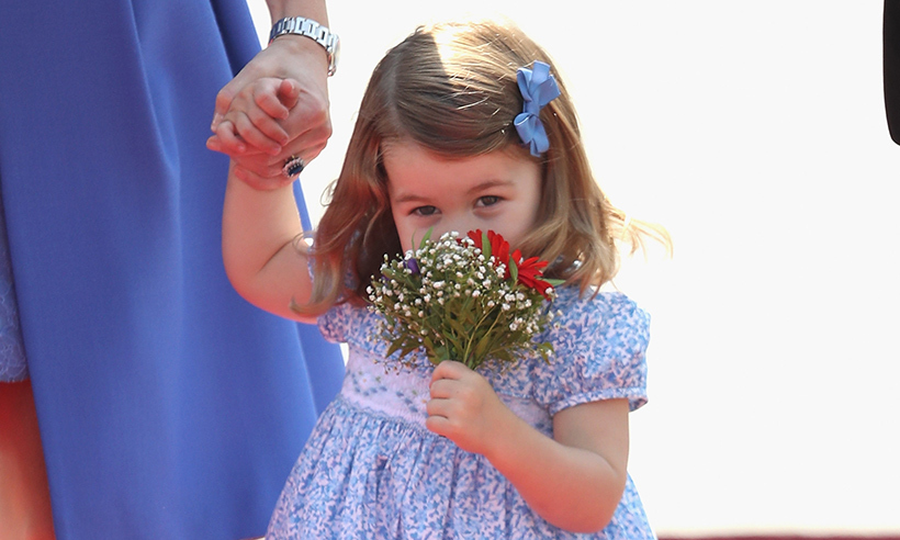 From cute hats to smart cardigans as a baby to gorgeous floral frocks during her first official royal engagements, Princess Charlotte has been spotted rocking rosy hues on many occasions - and the two-year-old royal is always tickled pink to be wearing her favourite colour. Here are all the times Princess Charlotte wore fashion's most feminine of colours...