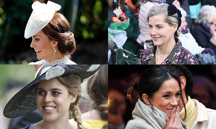 Buns Chignons Ponytails The Best Royal Updos Hello Canada