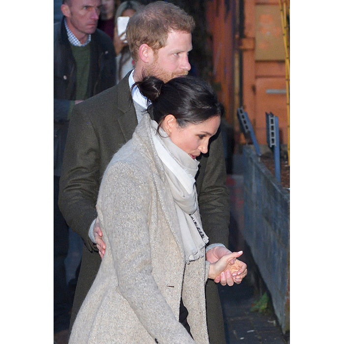 <h2>Meghan's casual bun</h2>