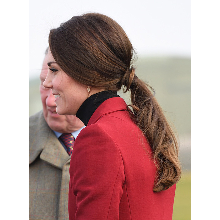 <h2>Kate's cool ponytail</h2>