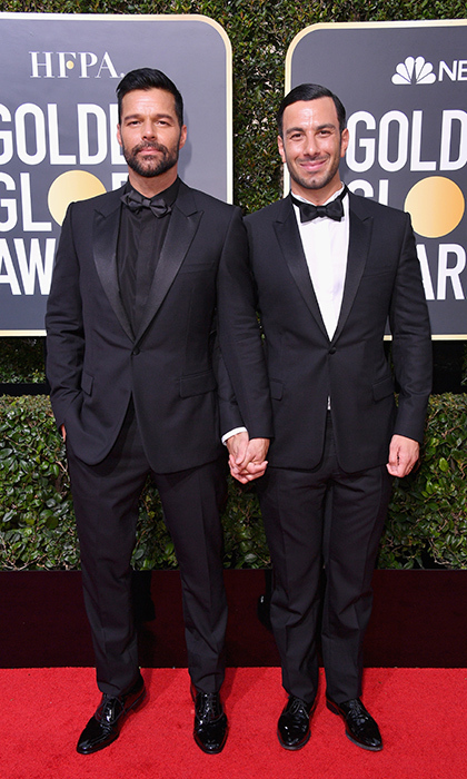 <h4>Ricky Martin and Jwan Yosef</h4>