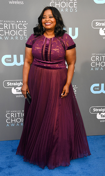 Octavia Spencer in Tadashi Shoji