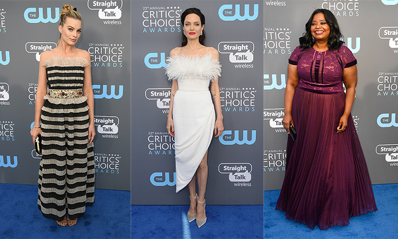 After painting the red carpet black at the Golden Globe Awards for a very worthy cause, supporting the TIME'S UP movement and victims of workplace sexual assault, Hollywood's A-list slipped back into some colour for the Critic's Choice Awards on Jan. 11. See who were the big winners on the red carpet by clicking through our gallery...