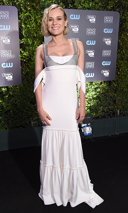 Diane Kruger in Vera Wang