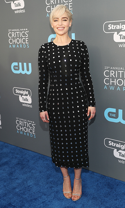 Emilia Clarke in Dolce & Gabbana