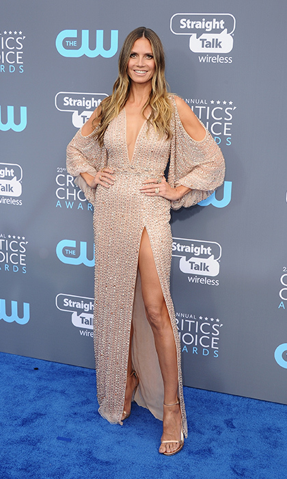 Heidi Klum in Georges Hobeika