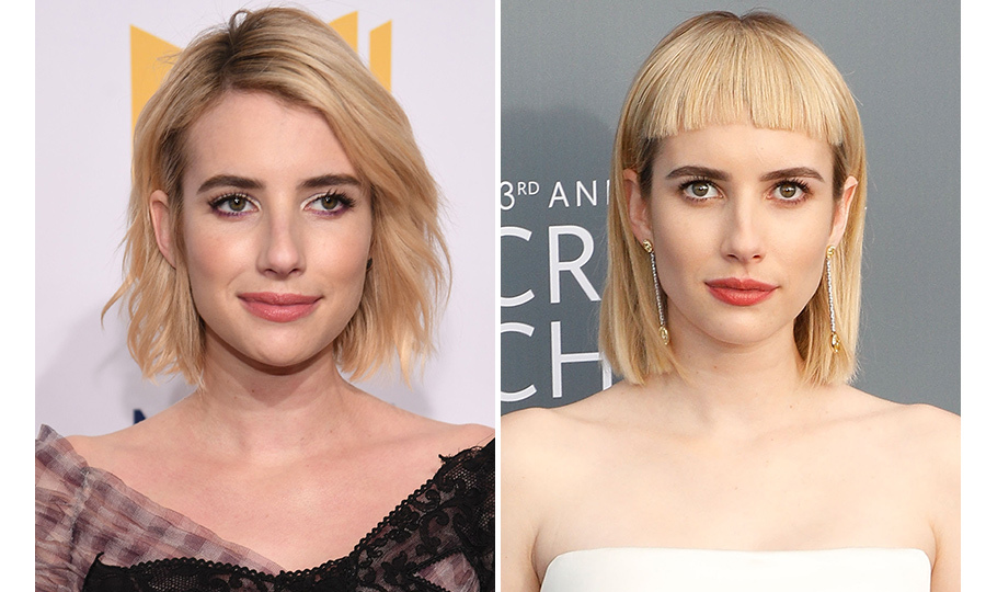 From a chic bob to a punk rock blunt cut, Emma Roberts has proven she really can wear it all!