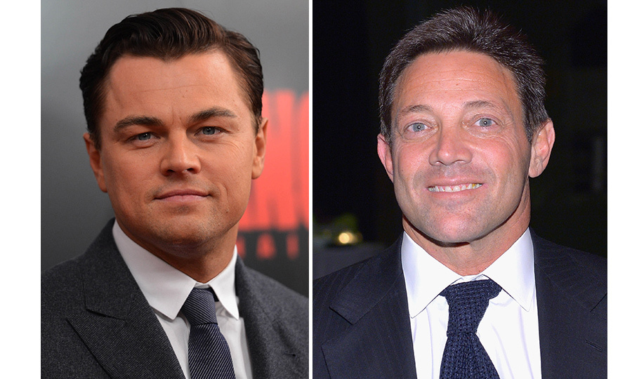 <h4>Leonardo Dicaprio and Jordan Belfort</h4>