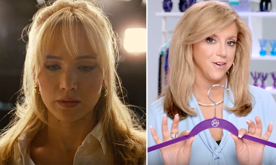 <h4>Jennifer Lawrence and Joy Mangano</h4>