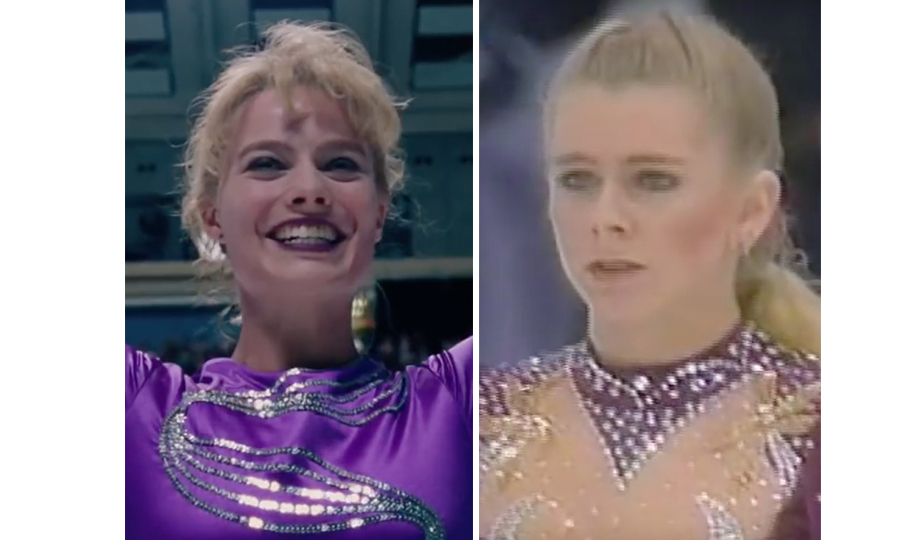 <h4>Margot Robbie and Tonya Harding</h4>
