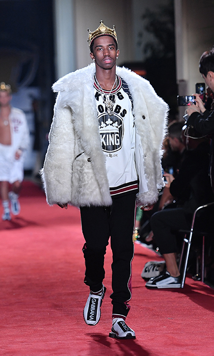 P Diddy (a.k.a. rapper Sean Combs) has a lot to be proud of this New Year! His 19-year-old son Christian made his runway debut with Dolce & Gabbana as well during Milan Fashion Week.