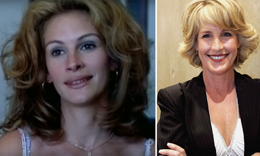 <h4>Julia Roberts and Erin Brockovich</h4>