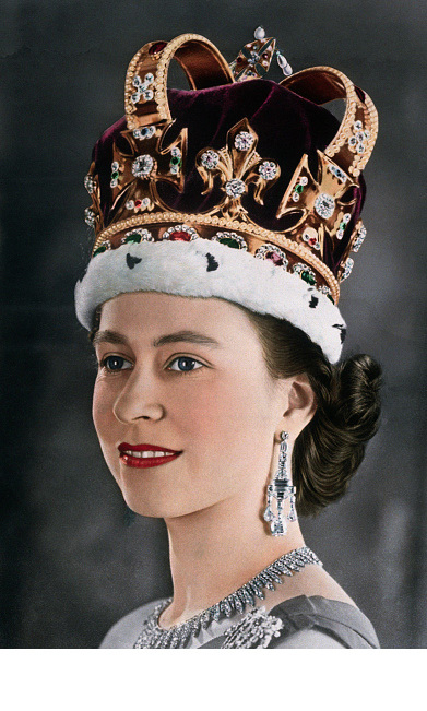 10 Stunning Photos From The Queen 39 S 1953 Coronation