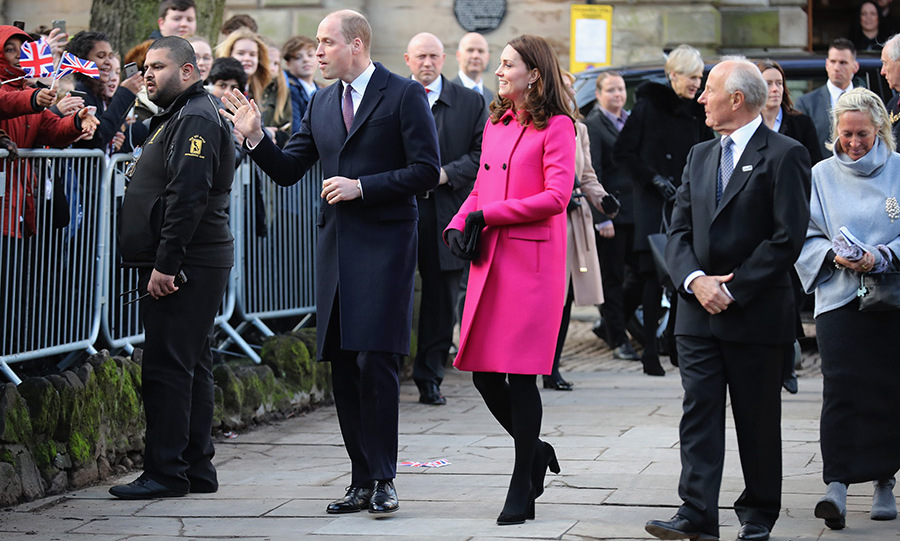 <p>Prince William and Kate arrive in Coventry.</p>