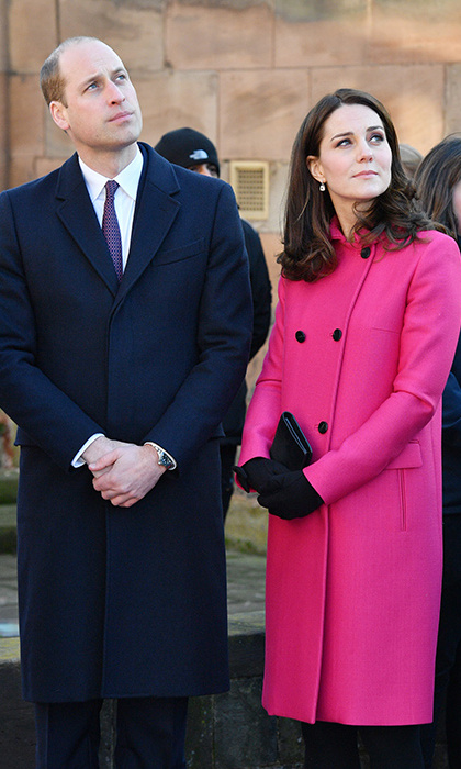 <p>Prince William and Kate visit Coventry Cathedral.</p>