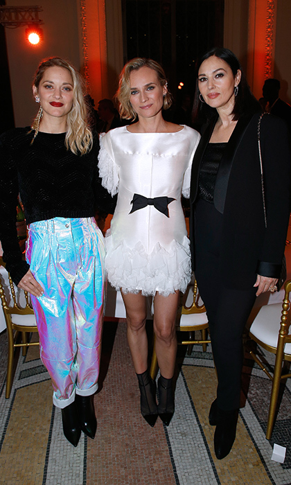 Marion Cotillard, Diane Kruger and Monica Bellucci looked fierce as ever while attending the 'Cesar - Revelations 2018' Party at Le Petit Palais on Jan. 15 in Paris.