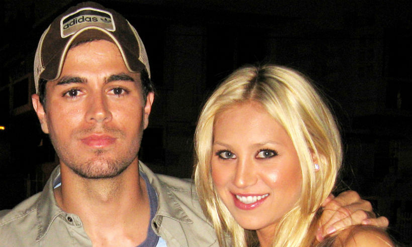 Enrique Iglesias And Anna Kournikova Give First Ever