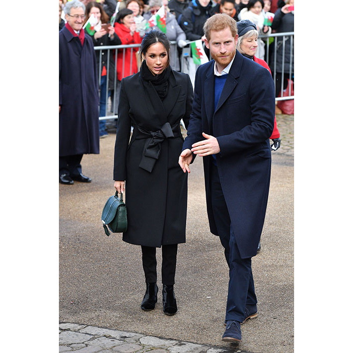 "<p><a href=""/tags/0/prince-harry""><strong>Prince Harry</strong></a> and <a href=""/tags/0/meghan-markle""><strong>Meghan Markle</strong></a> stepped out in Cardiff on Thursday for their third royal engagement. Braving the rain, the royal couple made their way to Cardiff Castle to see examples of how national sports charity Street Games is working.</p>