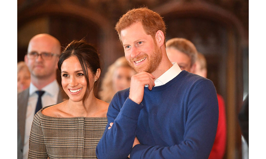 <p>Meghan's carefully planned Cardiff outfit not only featured trousers from a Welsh designer and a green tote bag by luxury handbag designer DeMellier - a nod to the Welsh flag - but a top featuring the Prince of Wales check. The checked design by Theory paid tribute to Meghan's husband-to-be, whose full royal title is Prince Henry of Wales.</p>