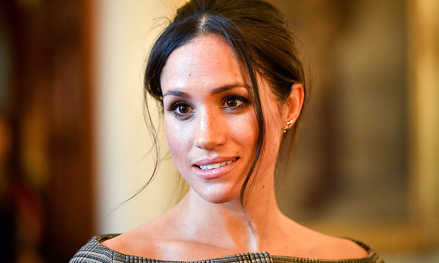 Meghan Markle showed off her natural beauty while on her second royal outing of 2018!