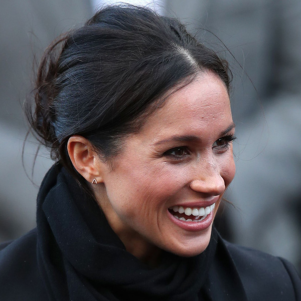 Meghan Markle Breaks Royal Convention And Wears Mismatched