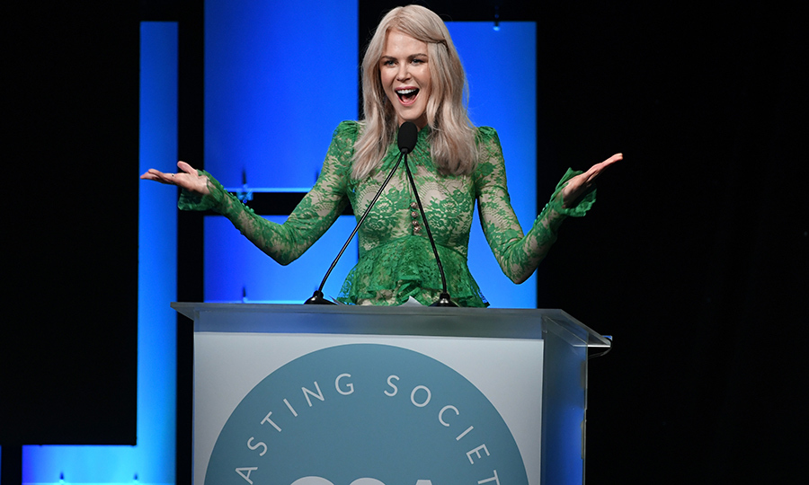 There isn't a colour that Nicole Kidman can't wear! On Jan. 18, the <em>Big Little Lies</em> actress attended the Casting Society Of America's 33rd Annual Artios Awards in Beverly Hills.