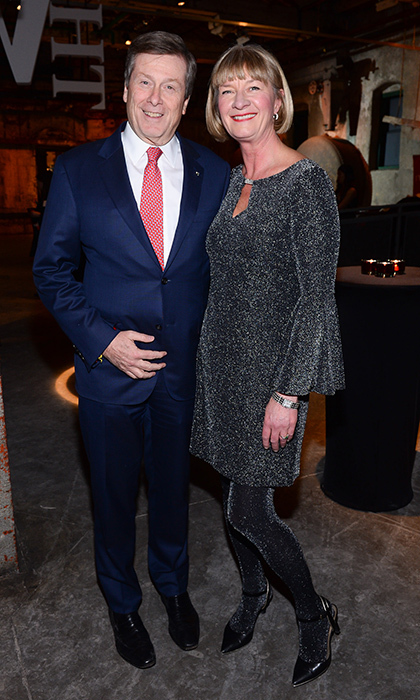 <p>Mayor John Tory and Shelley Ambrose</p>