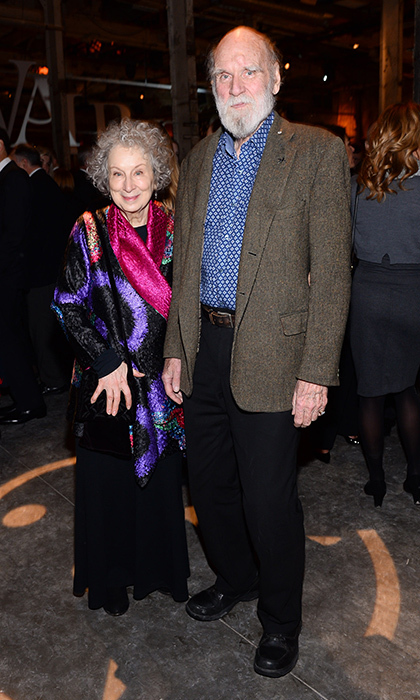 <p>Margaret Atwood and Graeme Gibson</p>