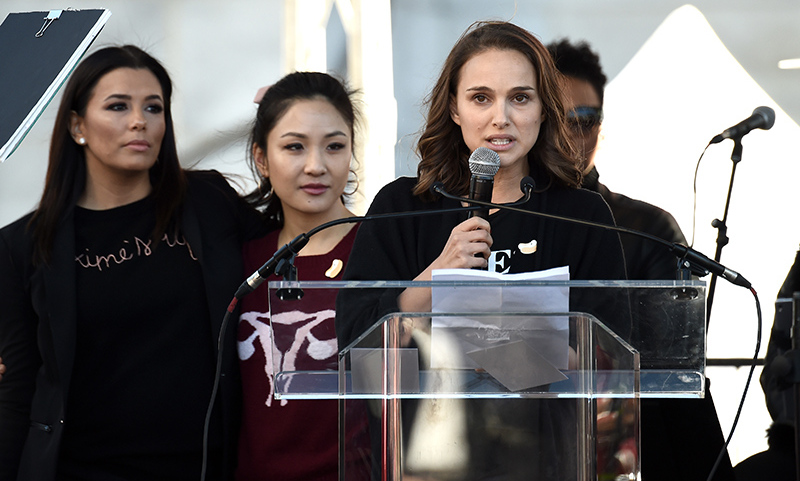 Eva Longoria, Constance Wu and Natalie Portman