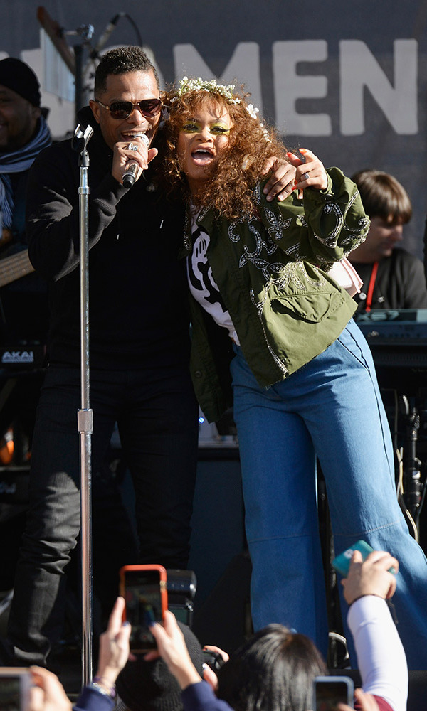 Maxwell and Andra Day